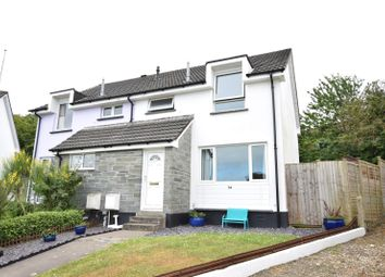Thumbnail 3 bed semi-detached house for sale in Ward Close, Stratton, Bude