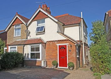 Thumbnail 3 bed semi-detached house for sale in Western Villas, Western Avenue, Hawkhurst, Cranbrook