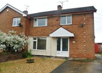 Thumbnail 3 bed semi-detached house for sale in Egmanton Road, Meden Vale, Mansfield