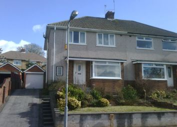 Thumbnail 3 bedroom semi-detached house to rent in Lynton Terrace, Llanrumney, Cardiff