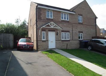 Thumbnail 3 bedroom semi-detached house to rent in Abinger Close, Bradford