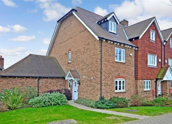 Thumbnail 3 bed end terrace house for sale in Beacon Avenue, Kings Hill, West Malling, Kent