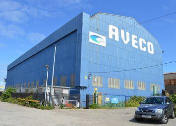 Thumbnail Light industrial for sale in Former Aveco Premises, Dockside Road, Middlesbrough