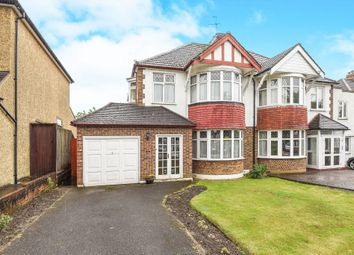 Thumbnail 3 bed semi-detached house for sale in Elgar Avenue, Berrylands, Surbiton