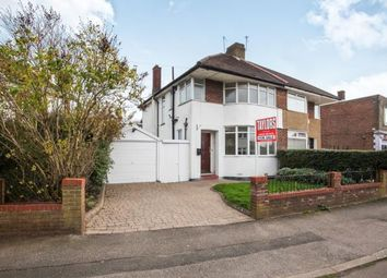 Thumbnail 3 bed semi-detached house for sale in Heywood Drive, Luton, Bedfordshire