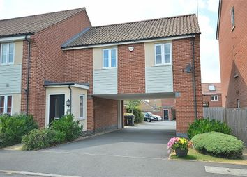 Thumbnail 1 bed end terrace house for sale in Narrowboat Lane, Pineham Lock, Northampton