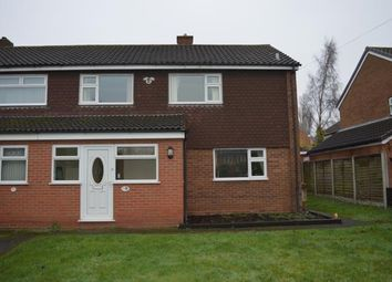 Thumbnail 3 bed semi-detached house for sale in Valley Lane, Off Wissage Road, Lichfield, Staffordshire