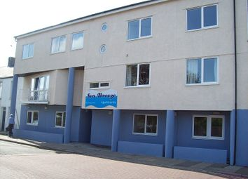 Thumbnail 1 bed flat to rent in Seabreeze Apartments, New Road, Porthcawl, Bridgend.