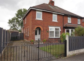 Thumbnail 3 bed semi-detached house for sale in Manor Road, Rotherham