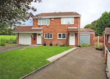 Thumbnail 2 bed semi-detached house for sale in Newcott Close, Pendeford, Wolverhampton