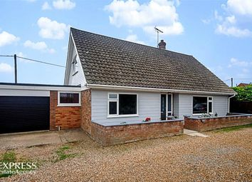 Thumbnail 3 bed detached bungalow for sale in Cromer Road, Mundesley, Norwich, Norfolk