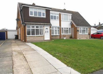Thumbnail 3 bed semi-detached house for sale in Sandylands Park, Wistaston, Crewe, Cheshire