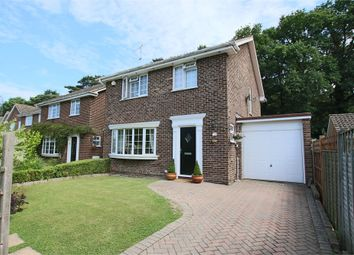 Thumbnail 4 bed detached house for sale in Pinetrees Close, Copthorne, West Sussex