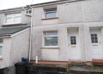 Thumbnail 2 bed terraced house to rent in High Street, Caeharris, Merthyr Tydfil