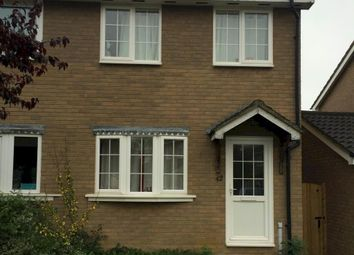Thumbnail 2 bed semi-detached house to rent in Morden Road, Papworth Everard, Cambridge 3Un, Papworth Everard