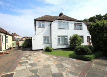 Thumbnail 4 bed semi-detached house for sale in Valliers Wood Road, Sidcup, Kent