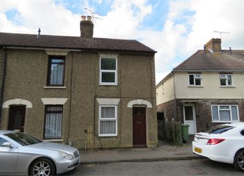 Thumbnail 2 bed end terrace house to rent in Bassett Road, Sittingbourne, Kent