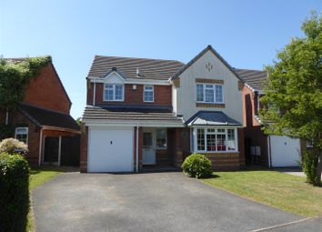 Thumbnail 4 bed detached house for sale in Warwick Way, Leegomery, Telford
