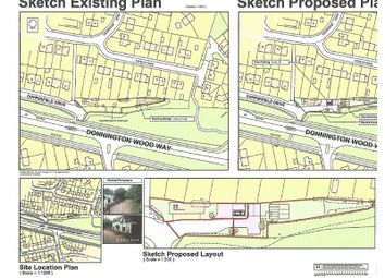 Thumbnail Land for sale in Building Plot, Copperfield Drive, Muxton, Telford