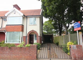 Thumbnail 3 bed end terrace house for sale in Garnham Road, Gorleston