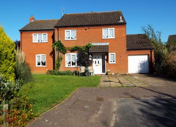Thumbnail 4 bed detached house for sale in Brancaster Way, Swaffham