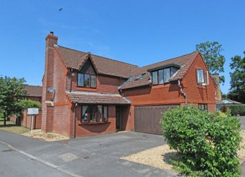 Thumbnail 5 bedroom detached house for sale in Hurricane Drive, Rownhams, Southampton
