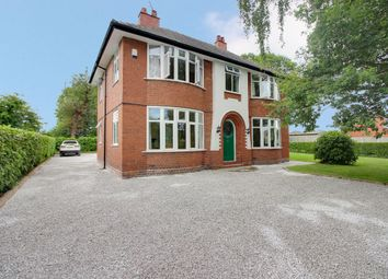 Thumbnail 4 bed detached house for sale in Ring Road, Backford, Chester