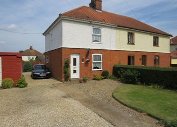 Thumbnail 3 bed semi-detached house for sale in Buckenham Road, Strumpshaw, Norwich