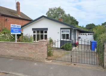 Thumbnail 1 bed detached bungalow for sale in Heath Road, Oulton Broad, Lowestoft, Suffolk
