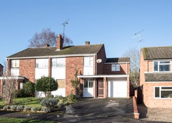 Thumbnail 4 bed semi-detached house for sale in Holmes Crescent, Wokingham