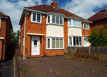 Thumbnail 3 bedroom semi-detached house for sale in Woolacombe Lodge Road, Selly Oak, Birmingham, West Midlands