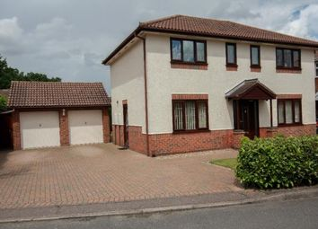 Thumbnail 4 bedroom detached house for sale in Longland Close, Norwich