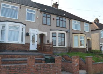 Thumbnail 3 bed terraced house to rent in Dulverton Avenue, Coundon, Coventry