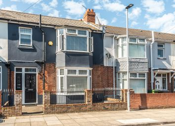 3 bed terraced house for sale in Hewett Road, North End, Portsmouth PO2