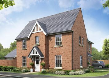"Thumbnail 3 bed semi-detached house for sale in ""Morpeth"" at Beggars Lane, Leicester Forest East, Leicester"