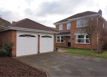 Thumbnail 4 bedroom detached house for sale in The Greenway, Woods Meadow, Elvaston