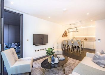 Thumbnail 2 bed flat to rent in Charles Clowes Walk, Nine Elms, London