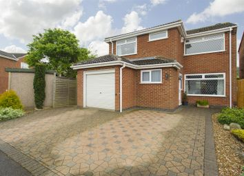Thumbnail 4 bed detached house for sale in York Close, East Leake, Loughborough