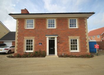 Thumbnail 4 bedroom detached house for sale in Barrow, Bury St Edmunds, Suffolk