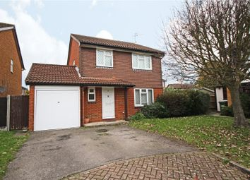 Thumbnail 4 bedroom detached house to rent in Grasmere Close, Egham, Surrey