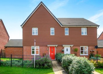 Thumbnail 3 bed semi-detached house for sale in Wellington Avenue, Meon Vale, Stratford-Upon-Avon