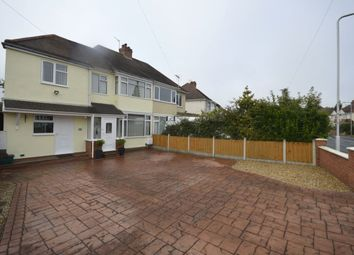 Thumbnail 4 bedroom semi-detached house for sale in Blackburn Avenue, Tettenhall, Wolverhampton