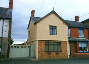 Thumbnail 2 bed semi-detached house to rent in Llanymynech