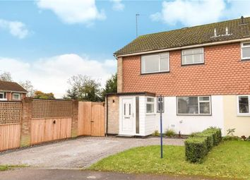 Thumbnail 3 bedroom end terrace house for sale in Stafford Close, Woodley, Reading