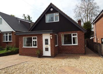 Thumbnail 3 bed bungalow for sale in Tatton Gardens, Woodley, Stockport, Cheshire