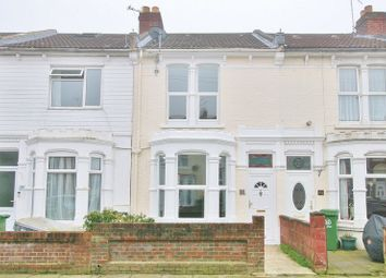 Thumbnail 3 bed terraced house for sale in Wykeham Road, Portsmouth