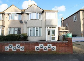 Thumbnail 3 bed semi-detached house for sale in Brent Lane, Dartford