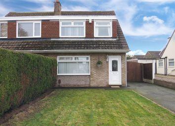 Thumbnail 3 bed semi-detached house for sale in Armthorpe Drive, Little Sutton, Ellesmere Port