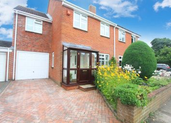 Thumbnail 4 bedroom semi-detached house for sale in Caversham Close, Southampton
