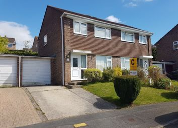 Thumbnail 3 bedroom semi-detached house for sale in Queens Close, Kingsteignton, Newton Abbot